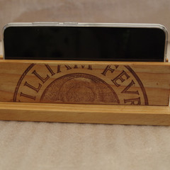 Rustic Recycled Wine Themed Mobile Phone Holder Stand