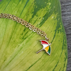 Cute Umbrella Necklace