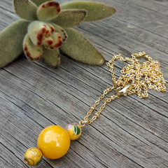 Sunshine beaded Necklace