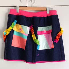 "Magic Tricks Skirt - 32"" to 37"" Waist"
