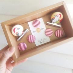 Christmas Kookaburra Magnet Gift Box Set