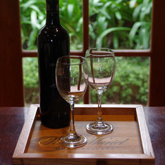 Vina Muriel Recycled Timber Valet Tray and BONUS gift