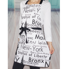 New York City Womens Kitchen Apron FREE Post!