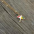 Cute Umbrella Necklace