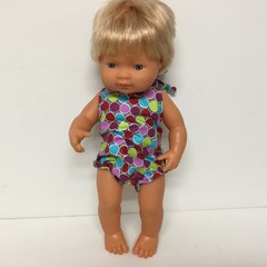 Miniland Dolls Halter  Romper to fit 38cm dolls