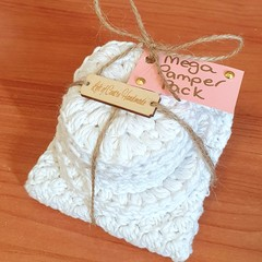 Mega Pamper Pack - Face Scrubbies & Wash Cloth