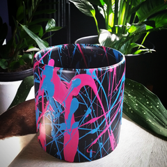 Colour Chaos Pot - Bubblegum Blue and Pink
