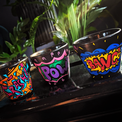 Crash-Bang-Pow! Pot (Mini - Set of 3)
