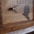 Rustic Recycled Peter Lehmann Chunky Clock and BONUS gift