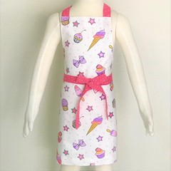 Ice Cream Kids Handmade Apron