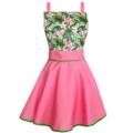 Flamingo Vintage Style Womens Apron