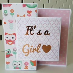 It's a Girl - Card