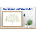 Personalised Word Art ~ 'Family Tree' ~ Unique Gift ~ Customisable ~ HDA00012