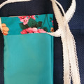MOBILE PHONE POUCHES BLUEISH GREEN  Lined Pouches for Phones  Spectacles