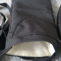 MOBILE PHONE POUCHES 2 POCKETS BLACK Lined Pouches for Phones  Spectacles