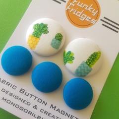 Cactus Flat Magnet Set