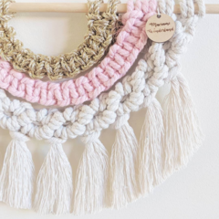 Macrame Rainbow Wall Hanging | Rainbow Wall Hanging | Macramè Rainbow