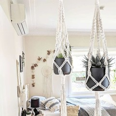 Macrame Plant Hangers - Small, Large, Duo, Double or Trio | Plant Hangers