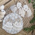 Macrame Earrings | Boho Earrings | Bohemian Earrings
