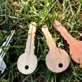 Toys of Wood Set of wooden Keys