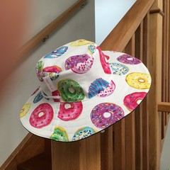 Fully Reversible Broad Brimmed Hat - Girls