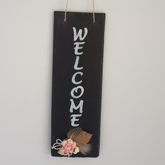 Welcome Sign - Vintage Charm