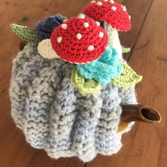 Not Mushroom in Here, tea cosy