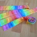 Headband in Watercolour Rainbow