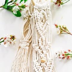 Macrame Plant Hanger, Hangers, Plant Holder, Hanging Basket