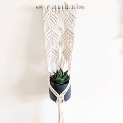 Macrame Plant Hanger  - Juliet | Macrame Pot Holder