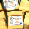 Horse and Hound Pet Soap Bar with Neem Oil and Eycalyptus.