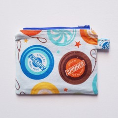 Yo Yo themed small coin purse pouch
