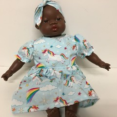Dolls  Dress to fit 40cm Miniland Dolls