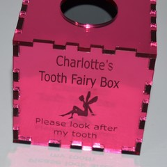 Tooth Fairy Box Baby Gifts, Baby Keepsake Mirror Pink