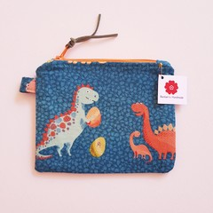 Dinosaurs coin purse pouch