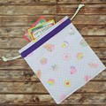 Drawstring Bag/Library/Toy Bag