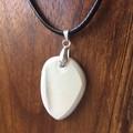 Brown Leaf Heritage Transferware on Sterling Silver