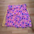 Picnic Blanket Kilt in Floral Gingham - Size S/M