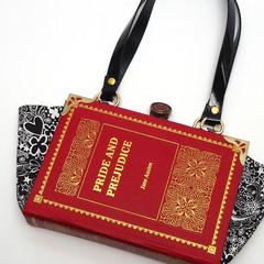 Pride and Prejudice Novel Bag - Jane Austen - Bag made from a book