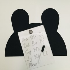 Beginner- Double sided/wipe clean alphabet trace and marker set