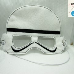 STORM TROOPER -Childs Pretend Play Face Mask-(Star Wars)
