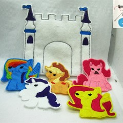 MY LITTLE PONY -  Children's Finger Puppet Set, Fun for Children 2+
