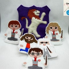HARRY POTTER - Children's Finger Puppet Set, Fun for Children 2+