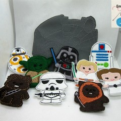 STAR WARS - Children's Finger Puppet Set, Fun for Children 2+
