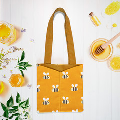 Busy Bee Eco Friendly Sustainable Tote Bag