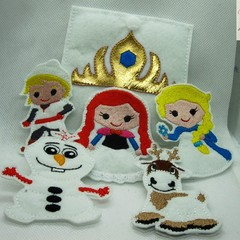 FROZEN- Children's Finger Puppet Set, Fun for Children 2+