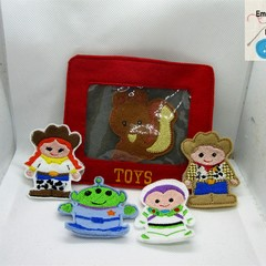 TOY STORY - Children's Finger Puppets -  Fun for children from 2+