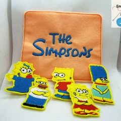 THE SIMPSONS - Children's Finger Puppet Set, Fun for Children 2+