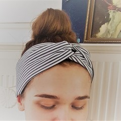 Upcycled 'Duo' headband