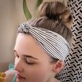 Upcycled knot headband